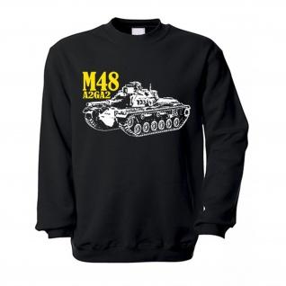 M48A2GA2 Bundeswehr Panzer M48 Patton A2GA2 Medium Tank 90 mm Pullover #15748