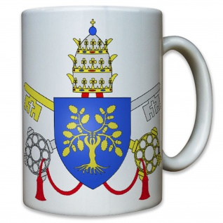 Papst Julius II Vater Geistiger Oberhaupt Schlüssel Himmelstor - Tasse #10767