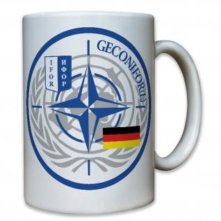 Geconifor L Militär Wappen Abzeichen Bundeswehr Emblem Deutschland - Tasse #7868