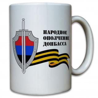 Volksarmee Donezk Wappen Abzeichen Bürgerkrieg Ukraine- Tasse Becher #12451