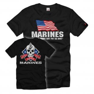 Marines USMC Army Amerika Einheit Spezial Militär USA T-Shirt#35467