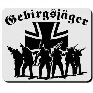 Gebirgsjäger Elite Militär Bundeswehr Einheit Einsatz GebJg Truppe - Mauspad PC #16620