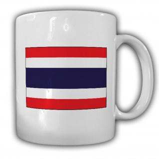 Tasse Königreich Thailand Fahne Flagge Kaffee Becher #13938