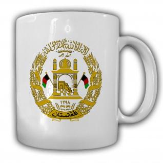 Islamische Republik Afghanistan Wappen Abzeichen Emblem - Tasse #13276