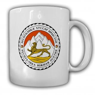 Tasse Südossetien Wappen Emblem Kaffee Becher #13925