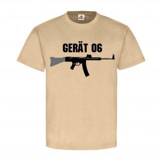 Gerät 06 Sturmgewehr 45 StG Waffe Deko Gewehr Prototyp T Shirt #18562