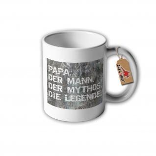 Tasse Papa. Der mann. Der Mythos. Die Legende Vater der Beste Geschenk #31338