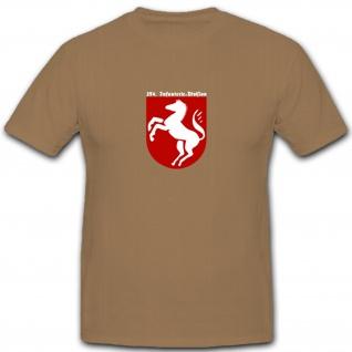 254. Infanterie-Division InfDiv Infanterie WK 2 Wappen Abzeichen - T Shirt #5602