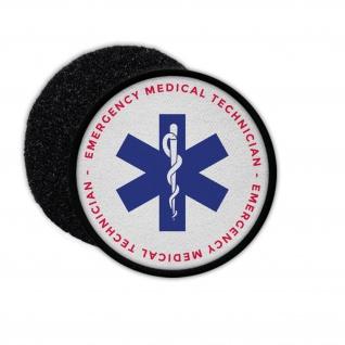 Patch Emergency Medical Technican Notfallsanitäter Rettungsdienst 75m#33702