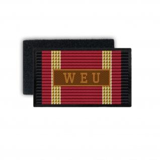 Einsatzbandschnallen BW WEU Patch Bundeswehr Aufnäher Truppe Einheit #33750