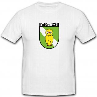 FmBtl 220 Fernmelde Bataillon Bundeswehr Wappen Emblem Abzeichen - T Shirt #4719
