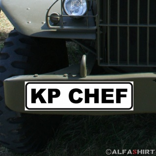 Magnetschild Kp Chef Kompanie Offizier Bataillon BW Fahrzeug Spieß #A345