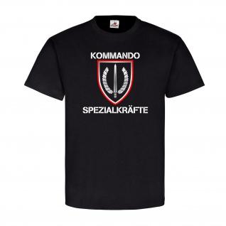 Kommando Spezialkräfte BW KSK Bundeswehr Abzeichen Wappen Einheit T Shirt #21471