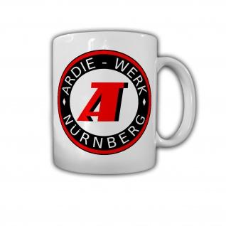 Ardie Logo Oldtimer Deutschland Nürnberg Werk Hersteller - Tasse #26760