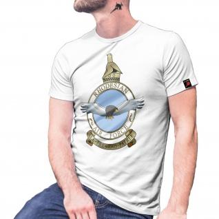 Rhodesian Air Force Wappen Abzeichen Emblem Bush War Logo T-Shirt #30074
