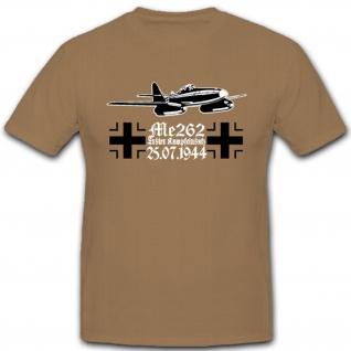 Me262 Flugzeug Luftwaffe WH WK Strahltriebwerke Jäger Schwalbe Jagdbomber - T Shirt #4075