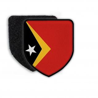 Patch Flagge von Osten Timor Land Wappen Aufnäher Zeichen Flagge Wappen #21463