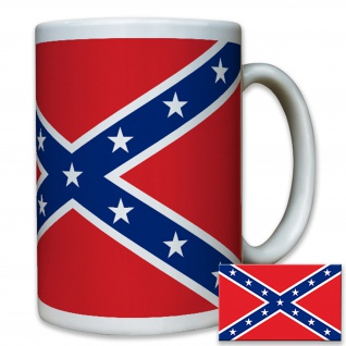 Tasse Louisiana secession US United States Confederate Wappen Flagge #8505 - Vorschau