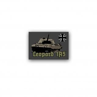 Aufkleber/Sticker Leopard 1A5 Panzer Leo Panzertruppe PzBtl BW 10x7cm A3083