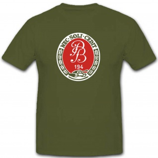 Pzbtl 194 Wappen Abzeichen Bundeswehr Panzerbataillon 194 Emblem T Shirt #3281