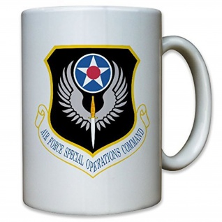 Air Force Operations Command AFSOC United States Amerika USA - Tasse #9966 t