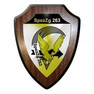 Wappenschild / Wandschild - SpezZg263 FschSpezZg Fallschirmspezialzug #9714