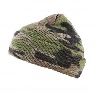 Kommando Mütze Camouflage Woodland US Army Winter Beanie