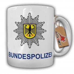 Bundespolizei Bundesgrenzschutz BGS GSG9 Polizei Deutschland BRD Adler Wappen - Tasse #8114