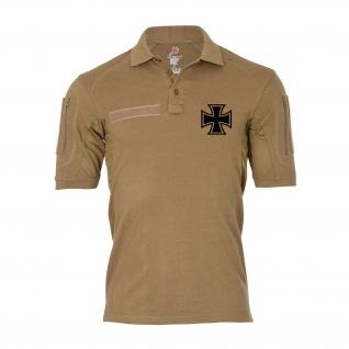 Tactical Polo Veteran Reservist EK Deutschland Militär Heer Shirt#36738