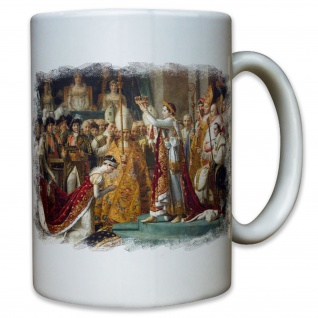 Krönung Papst Julius Gaieus Caeser Römisches Reich Eroberer - Tasse #11876