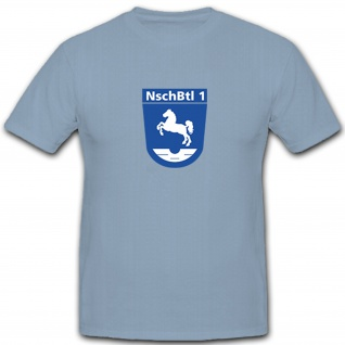 NschBtl 1 Nachschubbataillon Nachschub Logistig Versorgung T Shirt #5262