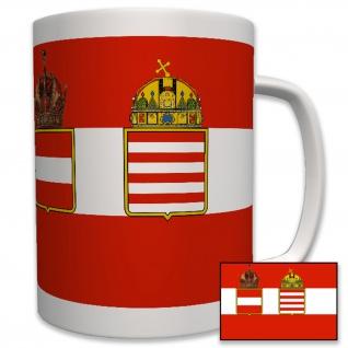 Österreich Ungarn flagge 1915- Becher Kaffee #5788