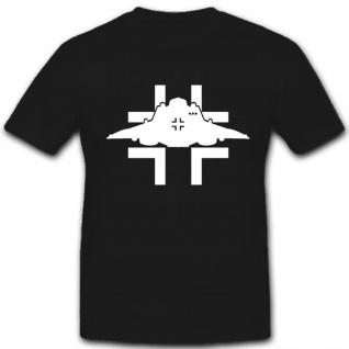Haunebu Ufo Balkenkreuz Wh Wk Wappen Abzeichen Emblem - T Shirt #3852