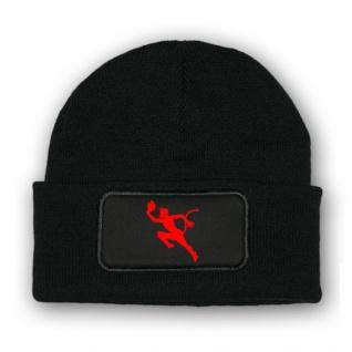 Mütze/Beenie - Teufel UBoot Devil Luzifer Marine Wappen Abzeichen #10364