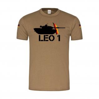 BW Tropen Panzer Leo 1A5 Leopard Vetran PzBtl 154 Tropenshirt T-Shirt Hemd#33462