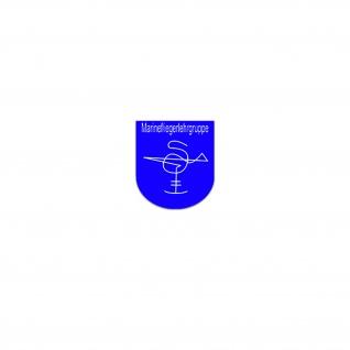 Aufkleber/Sticker Marinefliegertruppe Ausbildungseinrichtung Marine 6x7cm A3431
