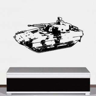 Wandtattoo PzGren Schützenpanzer SPZ Panzergrenadier Spindt 100x45cm #A2885