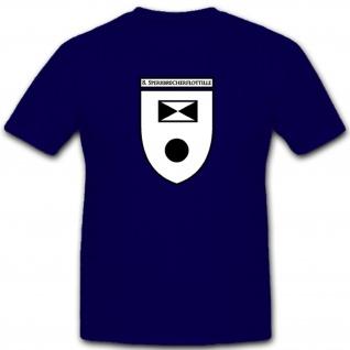 8. Sperrbrecherflotille deutsche Marine WK 2 Wappen Abzeichen - T Shirt #5244