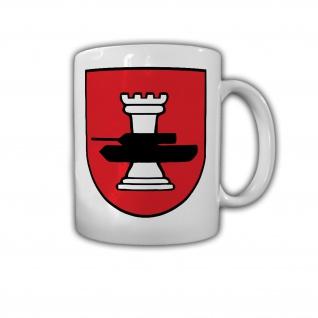 Tasse 6 PzGrenBtl 294 Panzergrenadierbataillon Kompanie Wappen Abzeichen #26714
