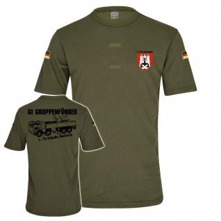 BW Tropen GI Gruppenführer 1 PzArtBtl 75 Klett LKW 10 t mil gl T-Shirt#34754