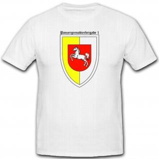Panzergrenadierbrigade 1 Panzer Pz Brigade Bund- T Shirt #1357