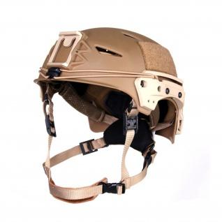 SWAT LAPD Tactical Helm SEK Polizei Fast FMA TB1044 Airsoft grau und sand #18735