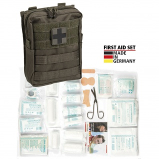 Combat FIRST AID SET Erste Hilfe Verbandskasten Notfall Verbandsmaterial #18716