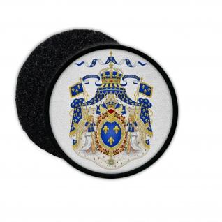 Patch Restauration Bourbonen Monarchie 1814-1830 Frankreich Paris Wappen #32897