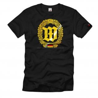 Barettabzeichen Wachbataillon Bundeswehr Wappen Emblem Einheit - T Shirt #1102