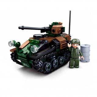Männer Spielzeug Wiesel Panzer Bundeswehr Bausteine BW1 A1 20-mm Maschine #33456
