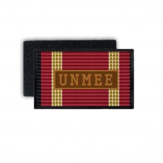 Einsatzbandschnallen UNMEE Patch Aufnäher United Nations Mission #33797