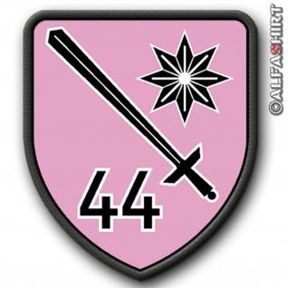 Patch / Aufnäher - PzBtl44 - Tarnvariante Wappen Militär Bundeswehr #8969