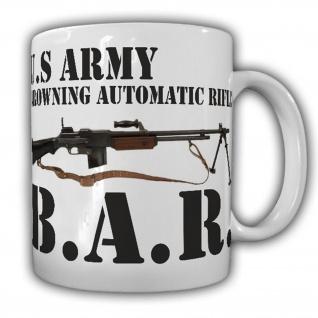 Tasse Browning Automatic Rifle B.A.R. M1918 USA US Maschinengewehr #16063