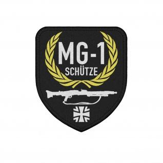 Patch MG-1 Schütze Bundeswehr MG3 Maschinengewehr Trupp #26775